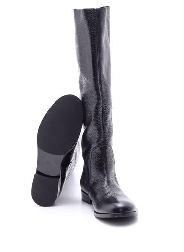 Derimod Deri Çizme Siyah